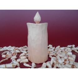 Zirben - Holz - Kerze (rund)