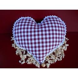Herz Zirbenkissen
